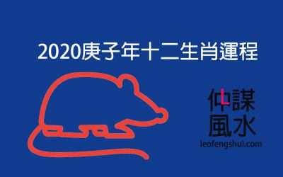 2020庚子年生肖運程